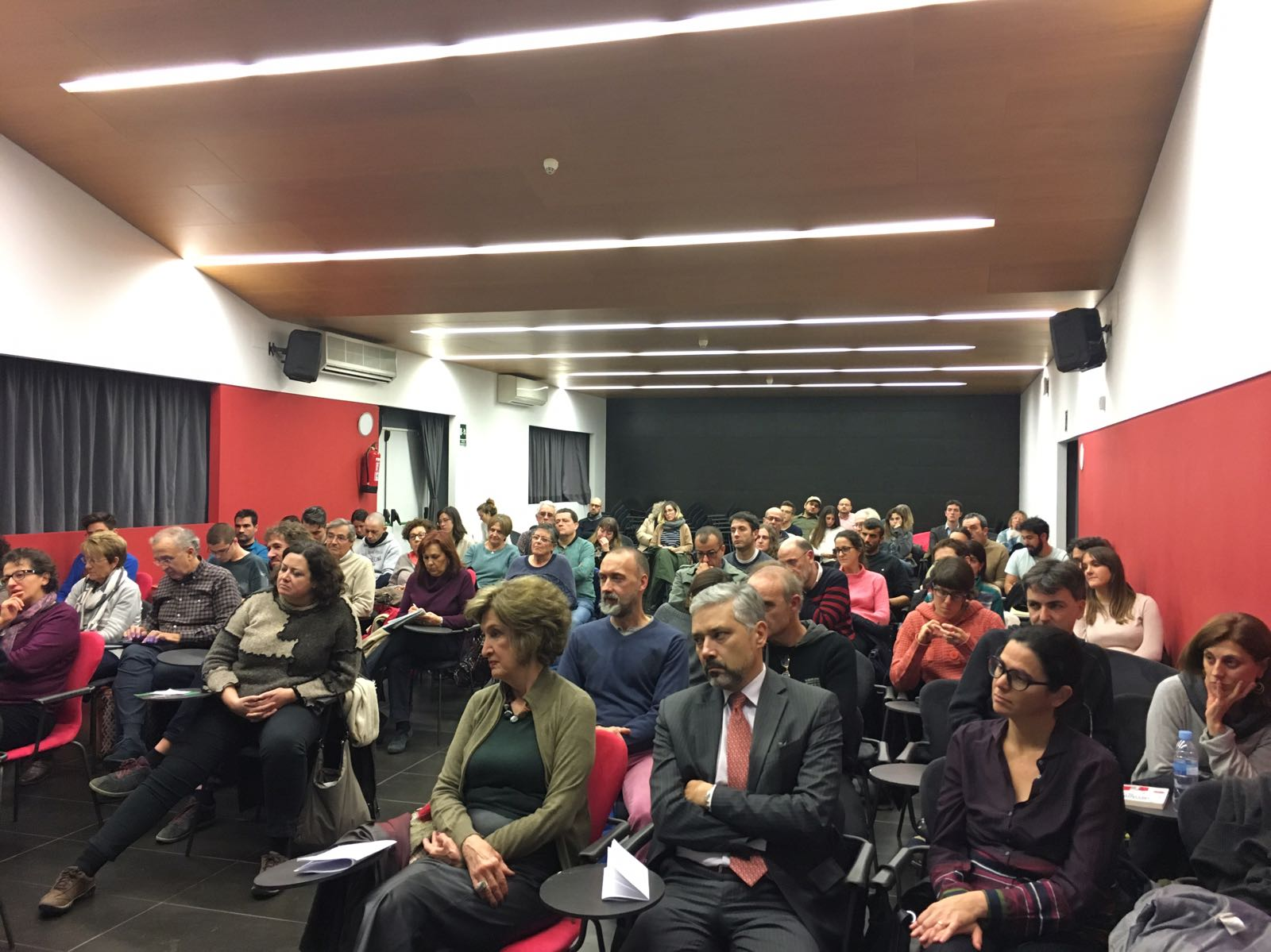 """A estrela de Clarice"", conferência da Profa. Dra. Elena Losada - Público presente"