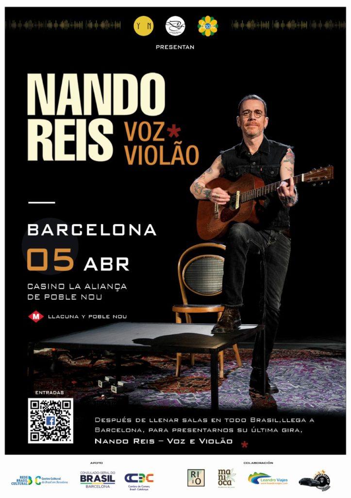 Nando Reis em Barcelona